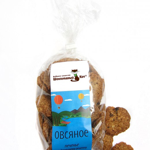 Печенье Овсяное Шоколадный Кот